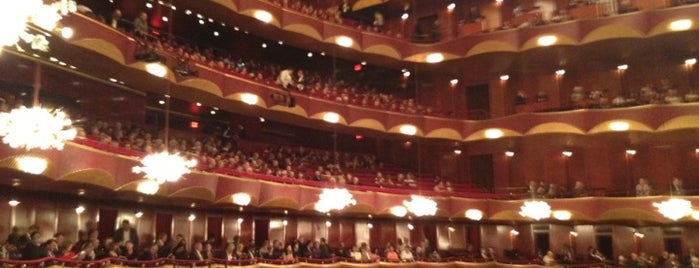 Metropolitan Opera House is one of New York.