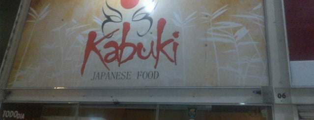 Kabuki Japanese Food is one of Comer.