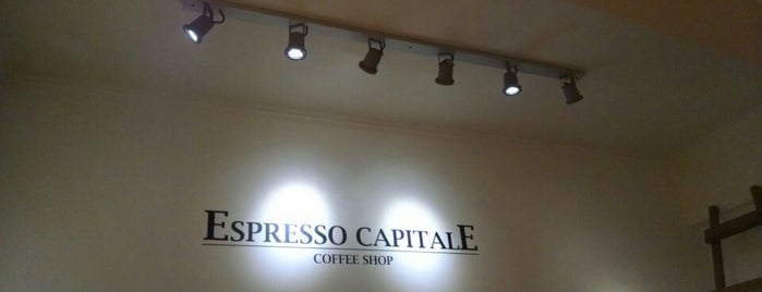 Espresso Capitale Coffee Shop is one of Chile.
