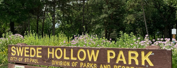 Swede Hollow Park is one of good for walks.