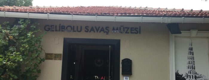Gelibolu Savas Müzesi is one of Canakkale.