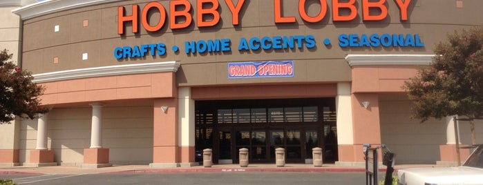 Hobby Lobby is one of Locais curtidos por Marianna.