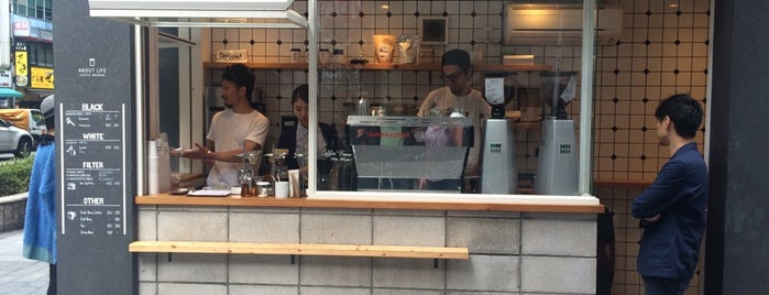 About Life Coffee Brewers is one of 도쿄.