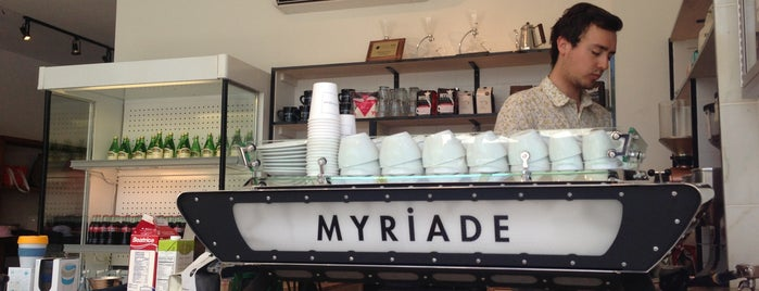 Café Myriade is one of Montreal.
