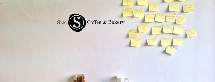 Size S Coffee & Bakery is one of Thailand!.