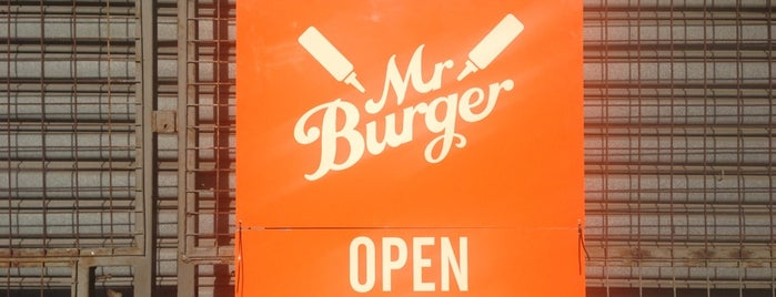 Mr Burger is one of Melbourne 3000.