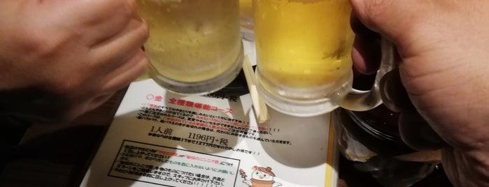 やきとり○金  渋谷文化村通り店 is one of Lieux qui ont plu à まる.