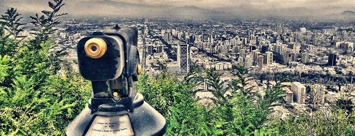 Parque Metropolitano de Santiago is one of #SantiagoTrip2.