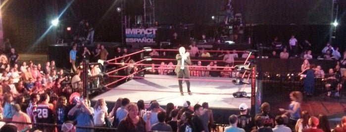 TNA Impact Wrestling Zone is one of Universal Studios.