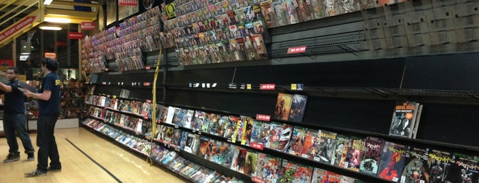 Midtown Comics is one of NYC Christmas 2012.
