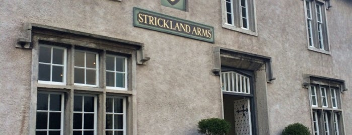 The Strickland Arms is one of Orte, die Carl gefallen.