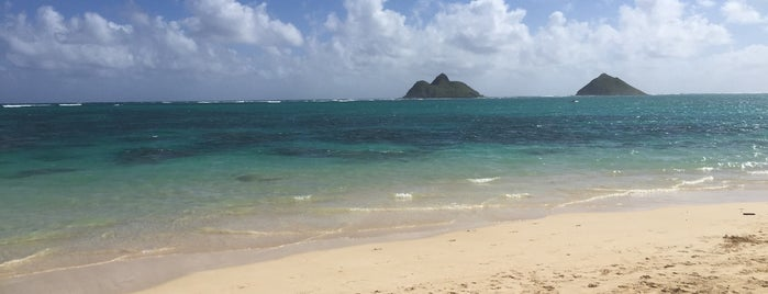 Lanikai Beach is one of plages.