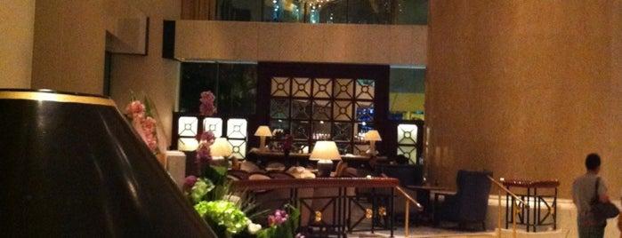 Island Shangri-La is one of Condé Nast Traveler Platinum Circle 2013.