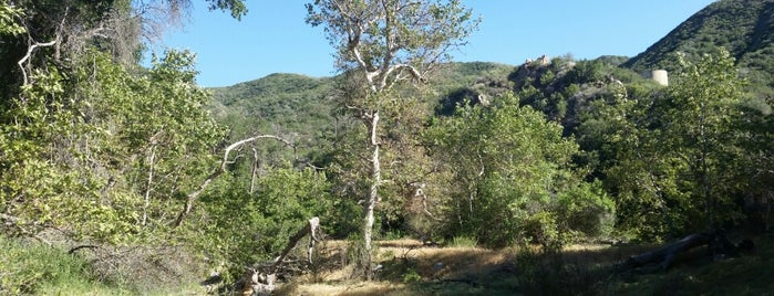 Placerita Canyon Waterfall Trail is one of Orte, die Todd gefallen.
