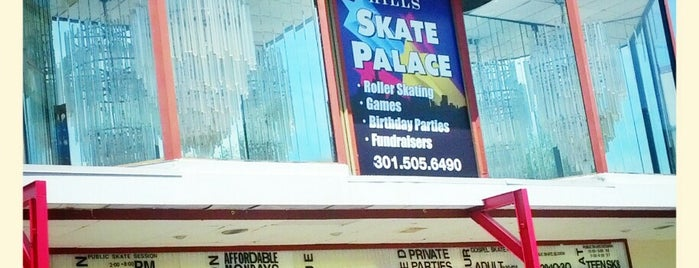 Temple Hills Skate Palace is one of Lieux qui ont plu à Loryn.