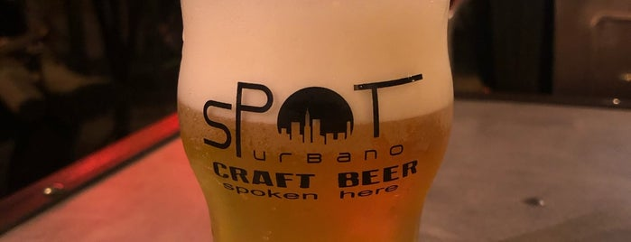 Spot  Urbano is one of Craft beer in São Paulo.