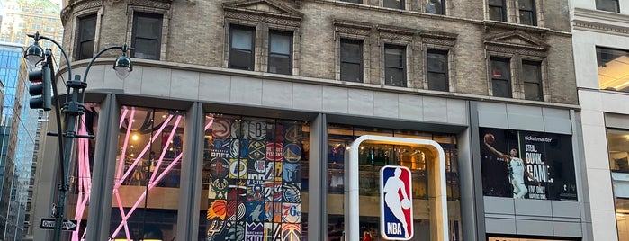 NBA Store is one of NYC.