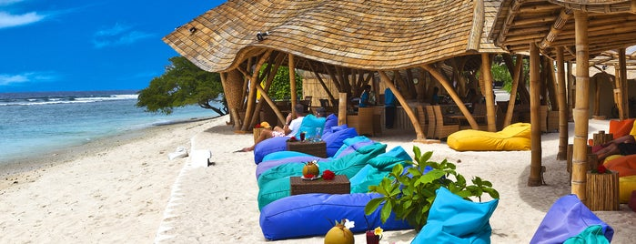 Pearl Beach Lounge is one of Gili + Lombok.