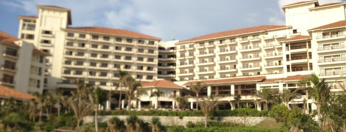 Busena Marine Park is one of Okinawa.