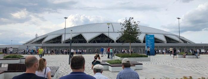 Samara Arena is one of Orte, die Виталий gefallen.
