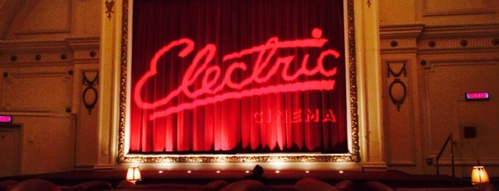 Electric Cinema is one of 1000 Things To Do In London (pt 2).