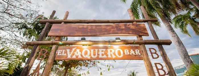 El vaquero is one of Tamarindo.