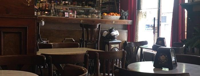Café Moliere is one of Tempat yang Disukai David.