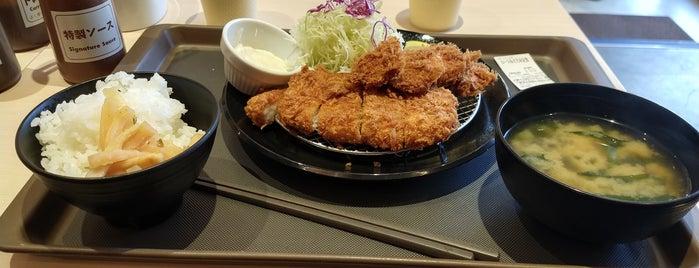 松のや 杉田店 is one of สถานที่ที่ Hideo ถูกใจ.