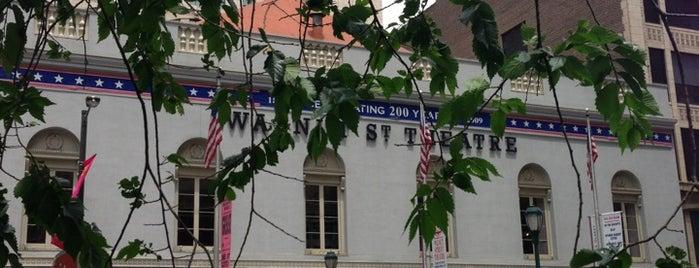 Walnut Street Theatre is one of Pennsylvania.