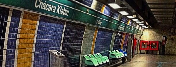 Estação Chácara Klabin (Metrô) is one of São Paulo ABC, Bares/Cafés, Restaurantes Shoppings.
