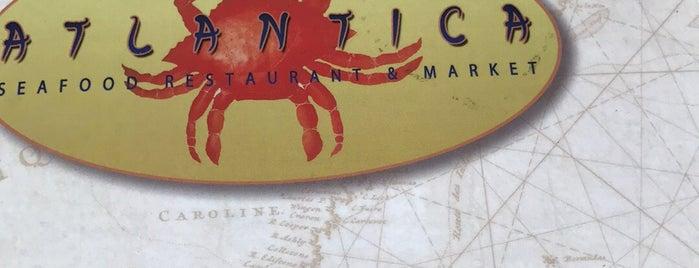 Atlantica Fish House & Market, Inc. is one of Roberto : понравившиеся места.