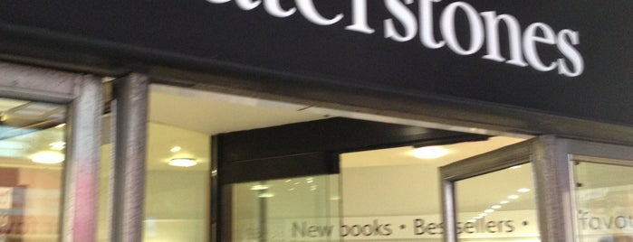 Waterstones is one of m.