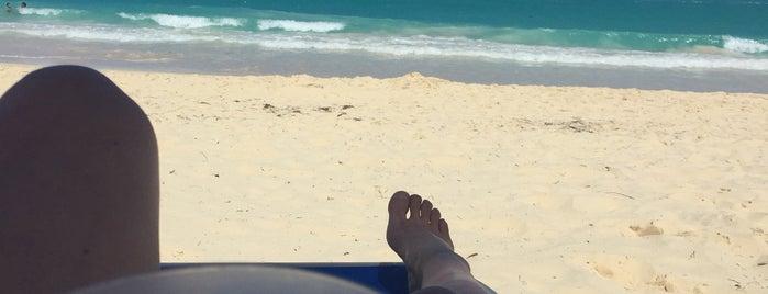 Beach At Riu Bambu is one of Orte, die Alexa🌸💌🎀 gefallen.