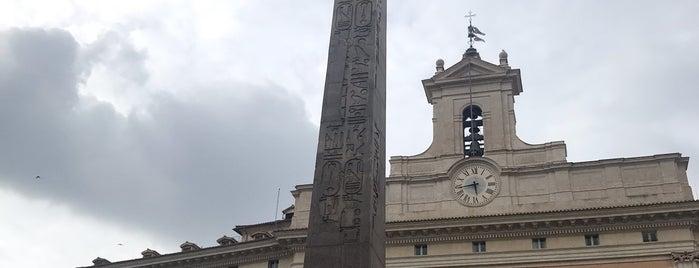 Obelisco di Monte Citorio is one of สถานที่ที่ Greg ถูกใจ.