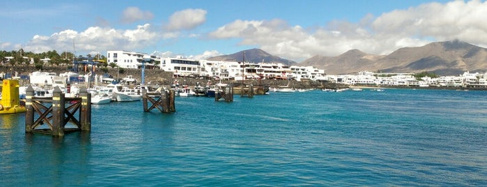 Playa Blanca is one of LANZAROTE.
