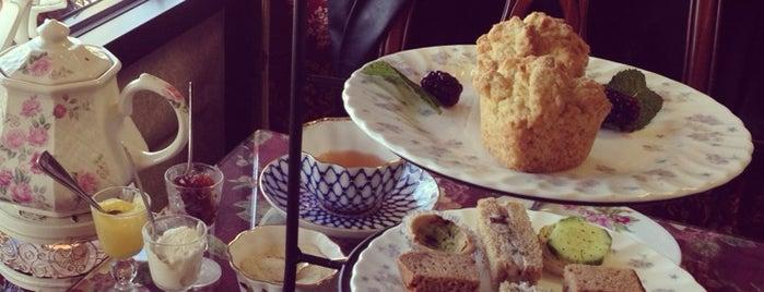 Tea Roses Tea Room is one of Coffee, Tea, and Smoothies.