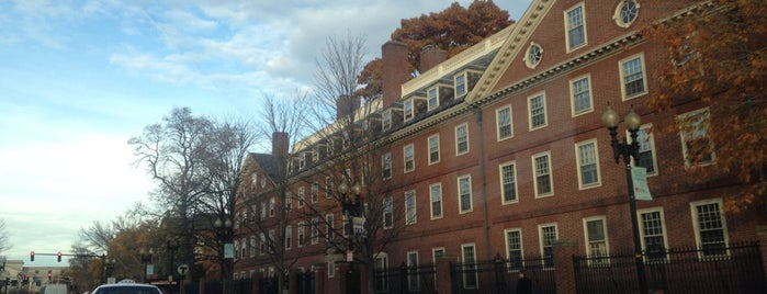 Harvard Square is one of Boston.