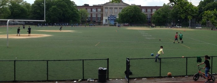 Russell Pedersen Playground is one of Where to play ball — Public Courts.