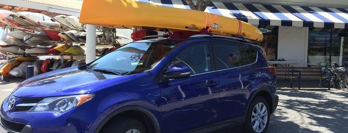 California Canoe & Kayak is one of Tempat yang Disukai Kouros.
