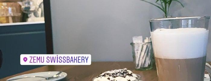 Zemu Swiss Bakery is one of Tempat yang Disukai Gokhan.