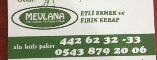 Mevlana Etli Ekmek is one of Lieux sauvegardés par Baran.