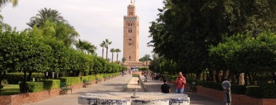 Jardin de la Koutoubia is one of Morocco.