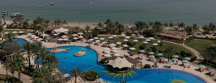 InterContinental Fujairah Resort is one of UAE road trip.
