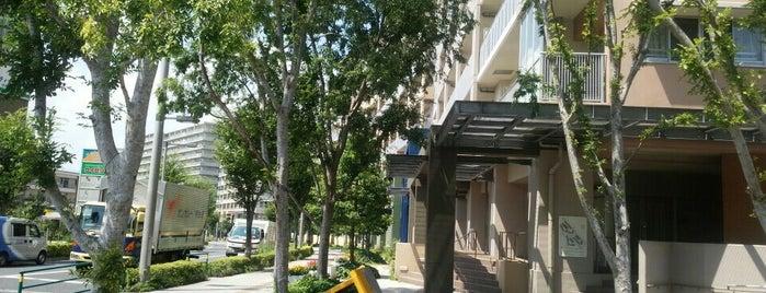 UR都市機構ハートアイランド新田三番街21号棟 is one of 神輿で訪れた場所-1.