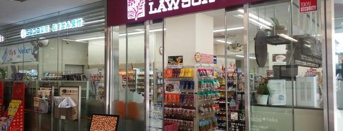 ナチュラルローソン+toks大岡山店 is one of Tempat yang Disukai 西院.