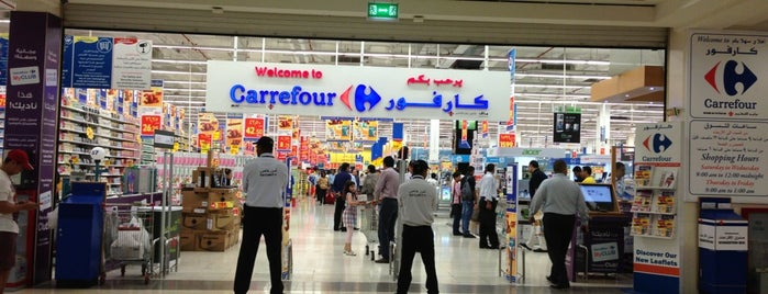 Carrefour is one of Dubai, UAE.