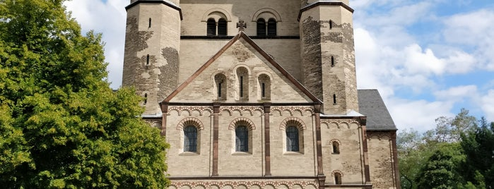 St. Pantaleon is one of Cologne.