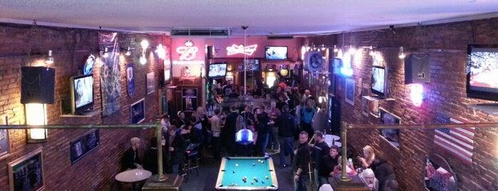 Berk's Main Street Pub is one of Drew's favorites.