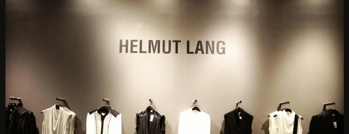Helmut Lang is one of no stunt no peasant.