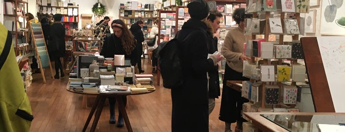 McNally Jackson Store: Goods for the Study is one of NYC to-do.